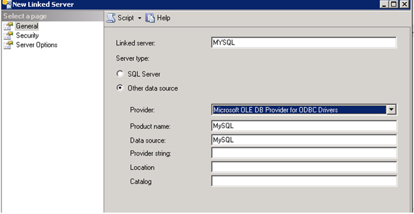 New Linked Server 2 - Resim 12