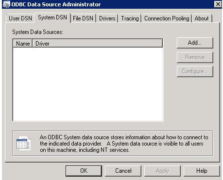 ODBC - Resim 4