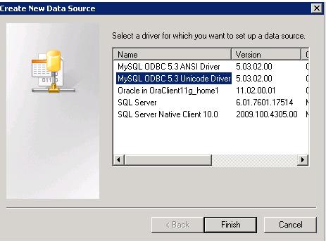 create new data source